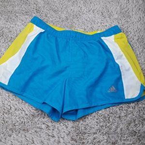 "Adidas Shorts Medium 3"" Active Womans Blue white"